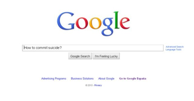 This is What Google Does When You Search How to Commit Suicide