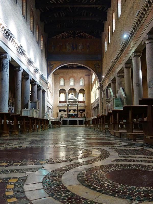 sao lourenco guia de roma1 - Basílica de São Lourenço Fora dos Muros