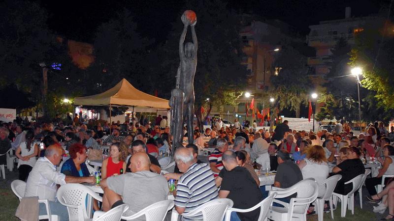 Αλεξανδρούπολη: Πλήθος κόσμου στο Φεστιβάλ 100 χρόνια ΚΚΕ - 50 χρόνια ΚΝΕ