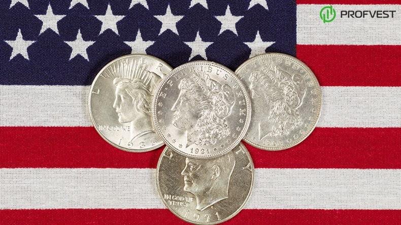 Серебряный доллар США: история монеты