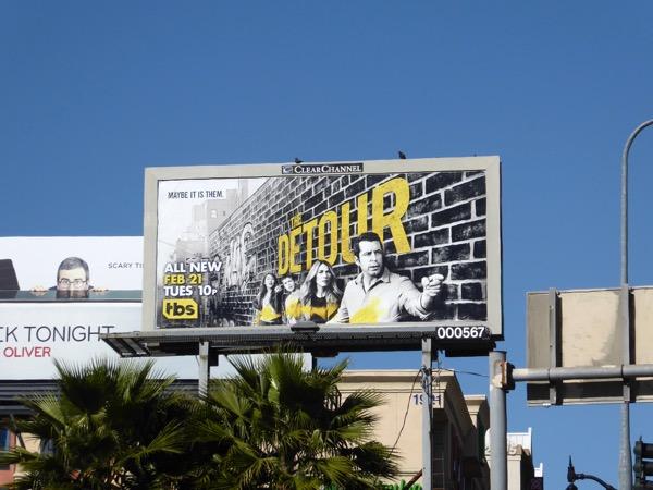 Detour season 2 billboard
