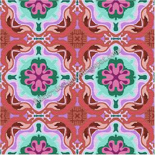 textiles design pattern
