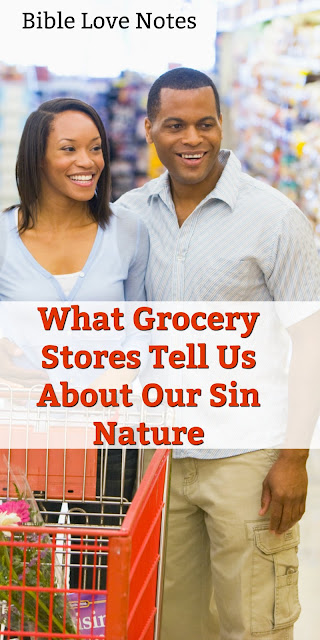 The aisles in Grocery stores tell us something about the conflict in our souls