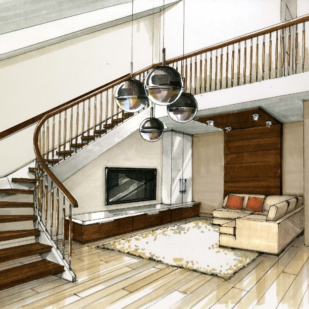 04-Sweeping-Staircase-Julia-Smolkina-Interior-Design-with-Mixed-Media-Drawings-www-designstack-co