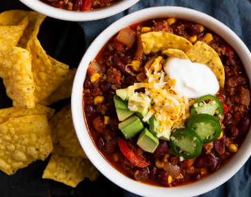 The Best Healthy Turkey Chili #easyrecipe #bestturkey