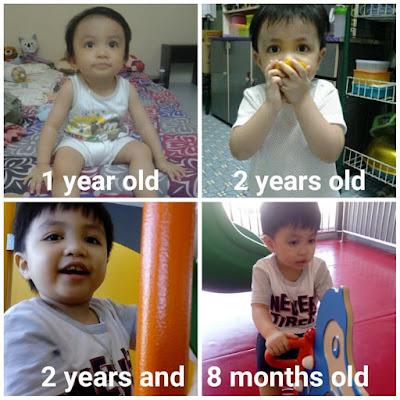 My nephew Nath - Shaklee Baby Kami
