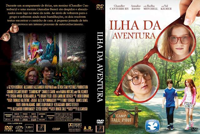 Capa DVD Ilha Da Aventura