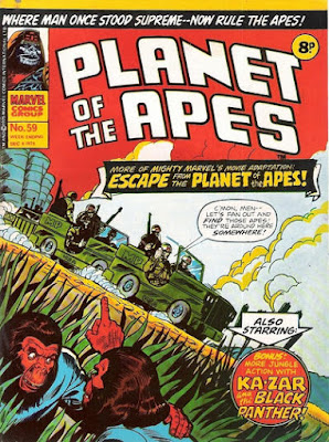 Marvel UK, Planet of the Apes #59