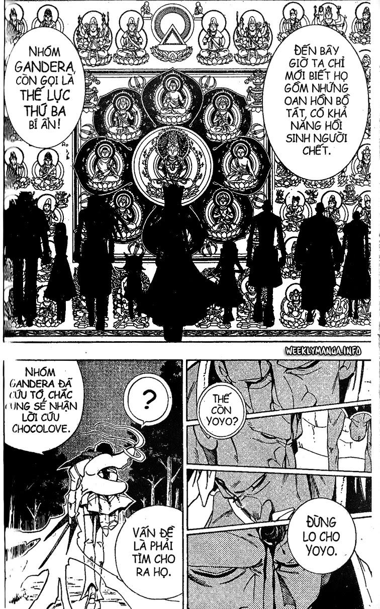 Shaman King [Vua pháp thuật] chap 192 trang 15