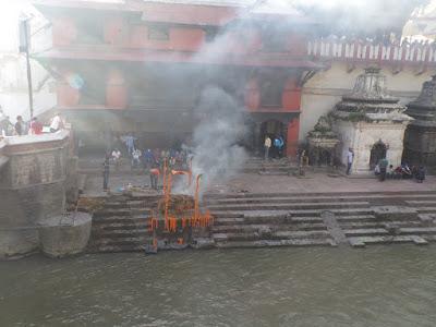 Pashupatinath cremaciones