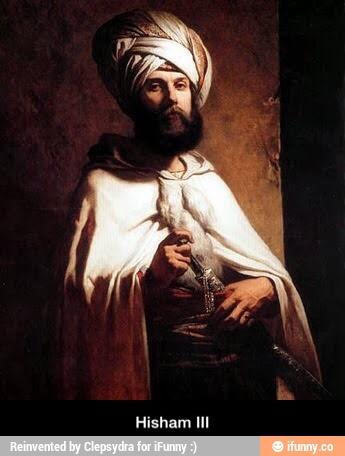 Resultado de imagen de califa Hisham III