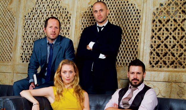 the four principals at AvroKO; Greg Bradshaw, William Harris, Kristina O'Neal and Adam Farmerie