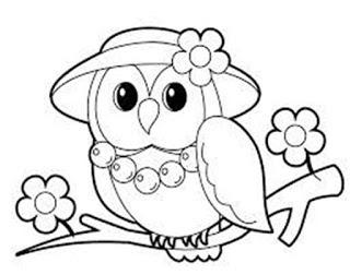 Dibujos De Buhos Para Imprimir Y Colorear Imagesacolorierwebsite