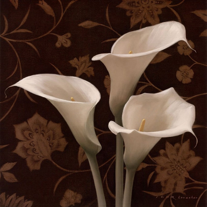 Igor Levashov - O pintor das flores