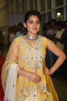 Nivetha Thamos in bright yellow dress at Ninnu Kori pre release function ~  Exclusive (7).JPG