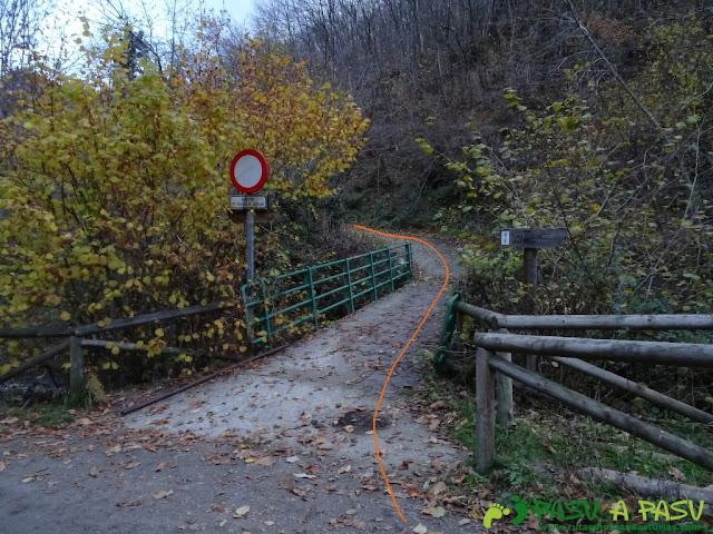Ruta a Peña Melera y Los Pandos: Desvío a Felechosa en las Foces del Pino