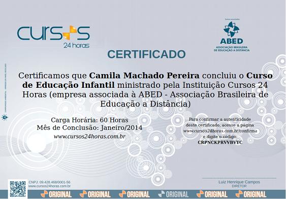 f359cf5c6 Acesse aqui para conhecer os mais de 140 cursos online com certificado do  site Cursos 24 Horas