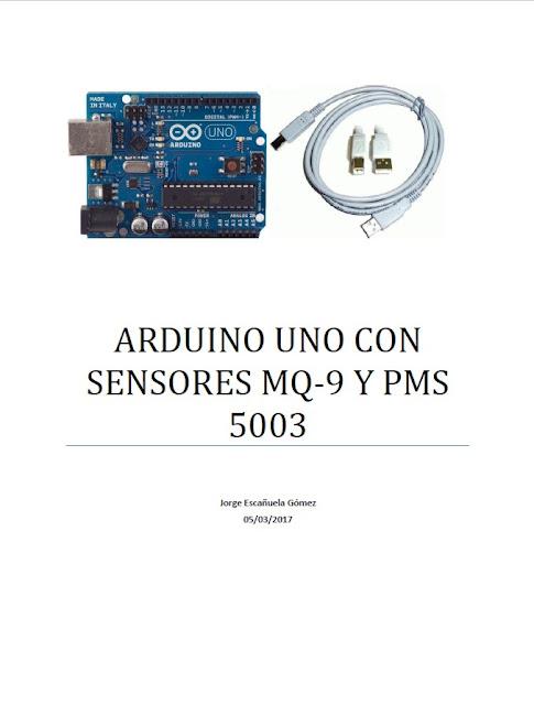 Sensor de gases, con Arduíno.