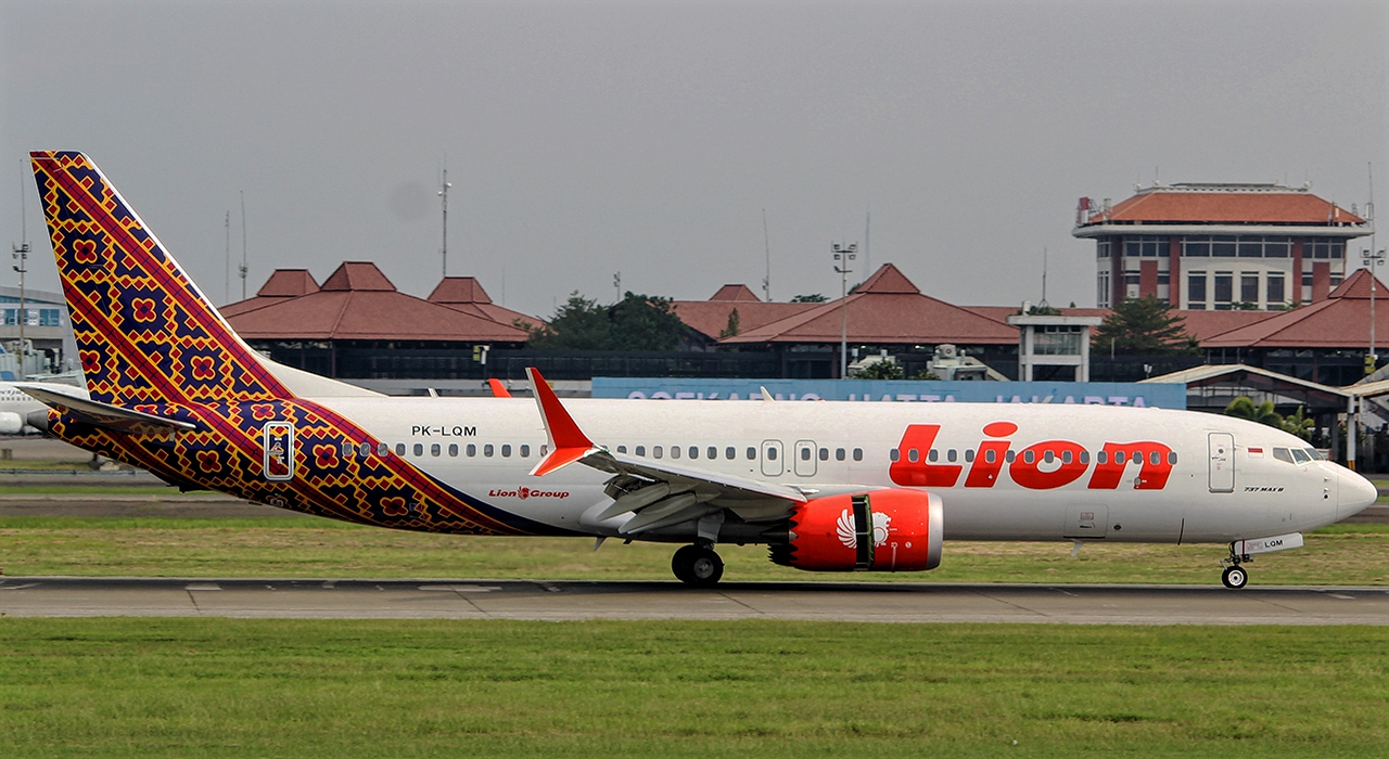 Boeing 737 MAX 8 of Lion Air