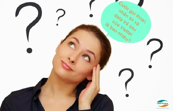 Cước gọi thoại, tin nhắn và data trả sau của Viettel là bao nhiêu?