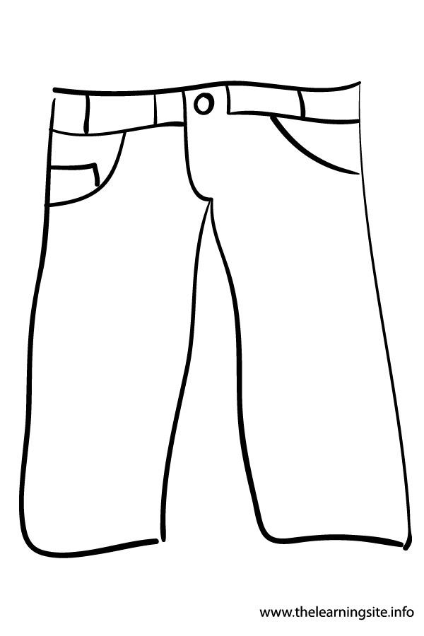 Pants coloring pages | Murderthestout