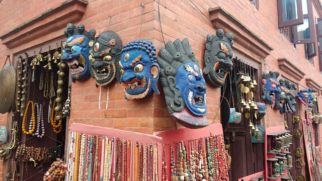 Shops at Swayambhunath