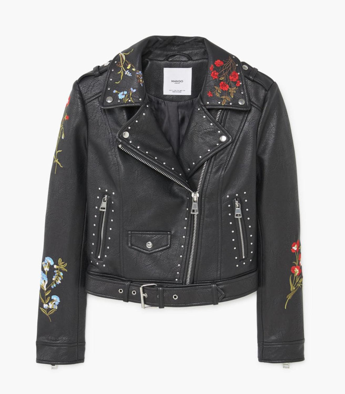 Buy Mango Embroidered Jacket