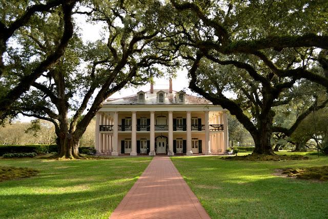 Плантация Дубовая Аллея, Вачери, Луизиана (Oak Alley Plantation, Vacherie, LA)