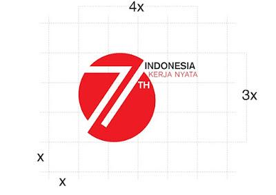 Logo Peringatan HUT Ke-71 Kemerdekaan Republik Indonesia (RI) Tahun 2016