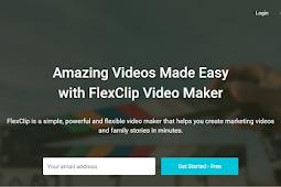 Free Online video maker dengan flexclip