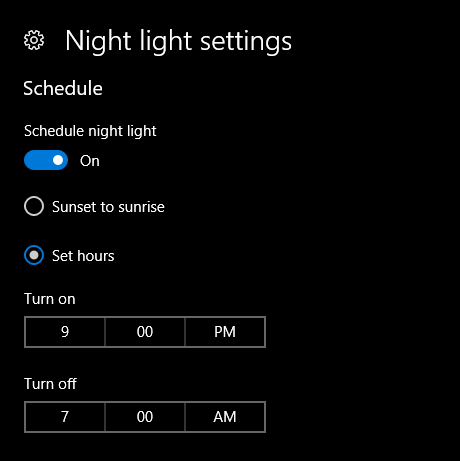 How to Use Night Light Feature in Windows 10 (Creators Update)
