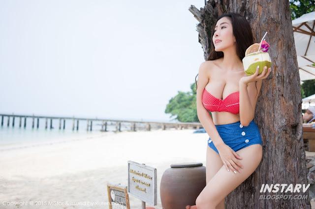Hot girls Trần hân so sánh vú với dừa 8