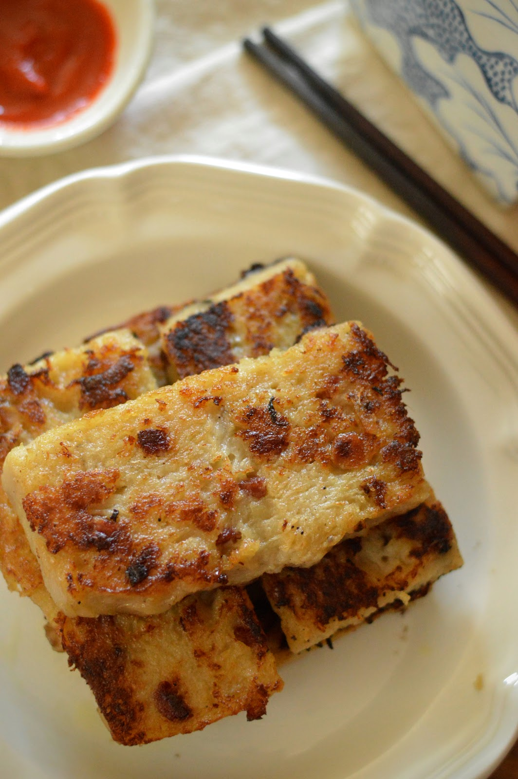 Pan Fried Radish Cake Recipe