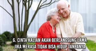 Cinta Kalian Akan Berlangsung Lama Jika Merasa Tidak Bisa Hidup tanpanya