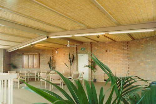 Натуральные потолки из соломенных матов. ~ Строительство ...