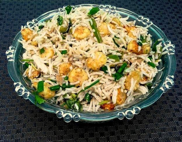 Crunchy baby corn fried rice bhojana recipes usually i make baby corn fritters or baby corn manchurian this time i tried making fried rice with this baby corn it really resulted in a very good main ccuart Gallery