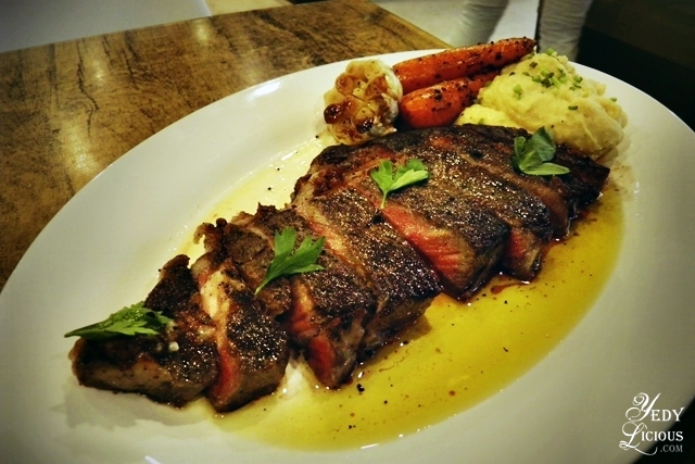 Rib Eye Steak, Main Street Kapitolyo