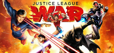 Poster Of Hollywood Film Justice League War (2014) In 300MB Compressed Size PC Movie Free Download At worldfree4u.com