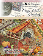'Crazy Quilt Quarterly' Autumn 2016