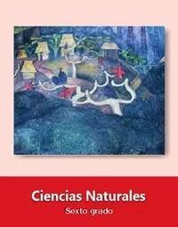 Libro de texto  Ciencias Naturales Sexto grado 2019-2020