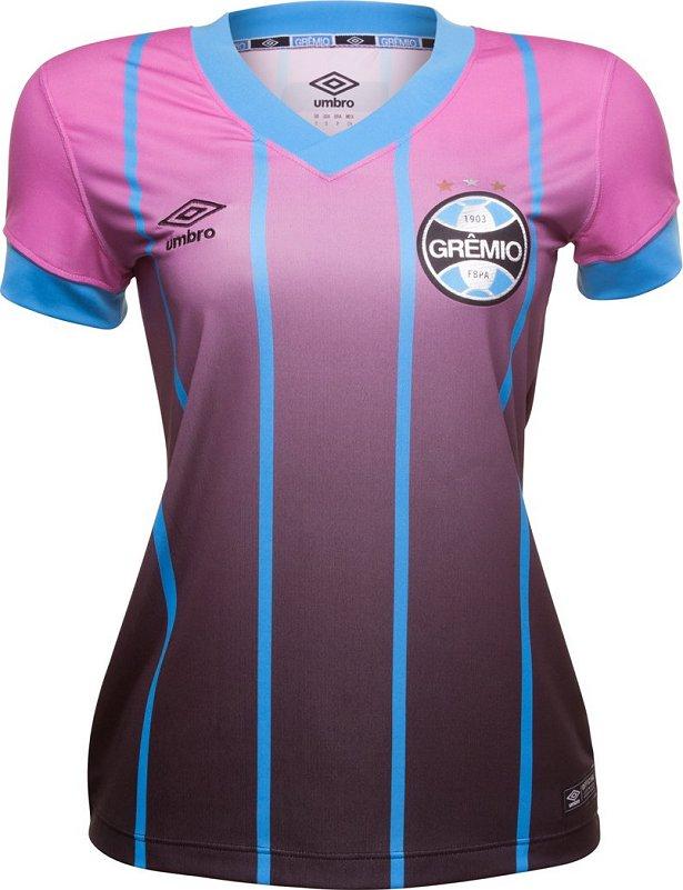 37160b8bc9 Umbro lança camisa especial para as torcedoras do Grêmio - Show de ...