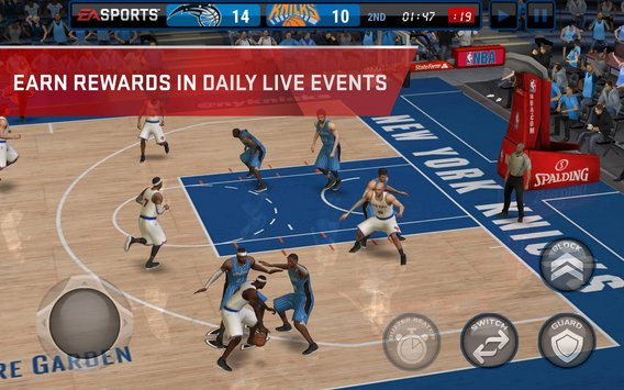 NBA LIVE v1.0.7 Apk For Android ~ GETPCGAMESET