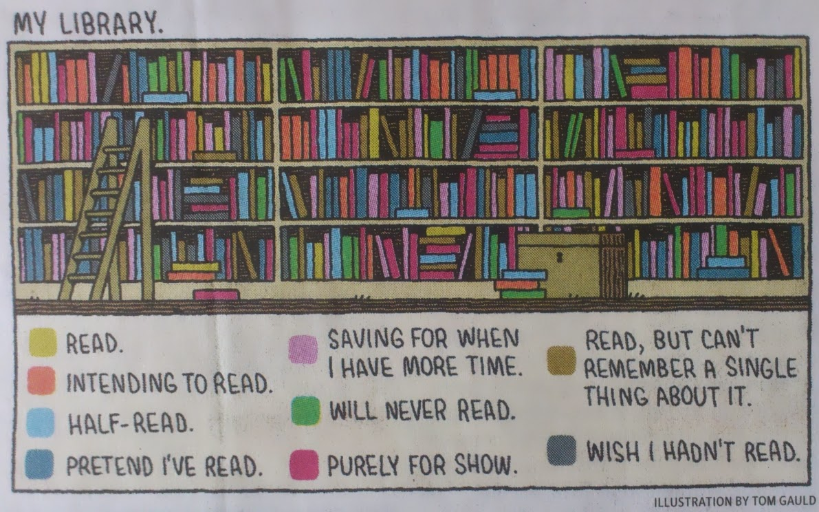 Illustration by Tom Gauld. Copyright (presumably?) © 2014 The Guardian