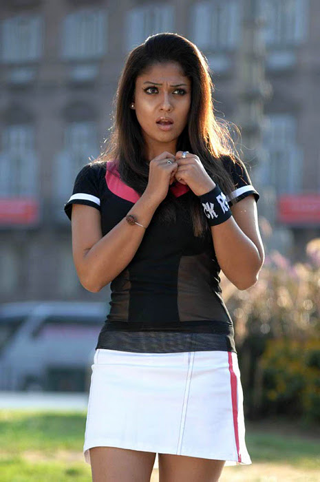 Nayanthara Hot Photos In Black Dress
