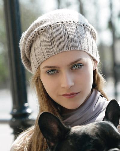 Free Knitting Pattern Women S Knit Beret Models