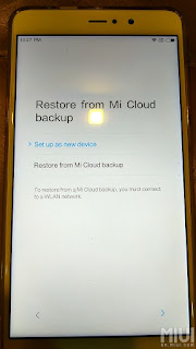 Mi Cloud - How to transfer data and file from old Mi Phone to New Mi Phone with Step By Step Guide with pictures