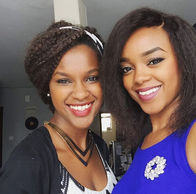 Photo: Edith Kimani introduces her hot look-alike sister