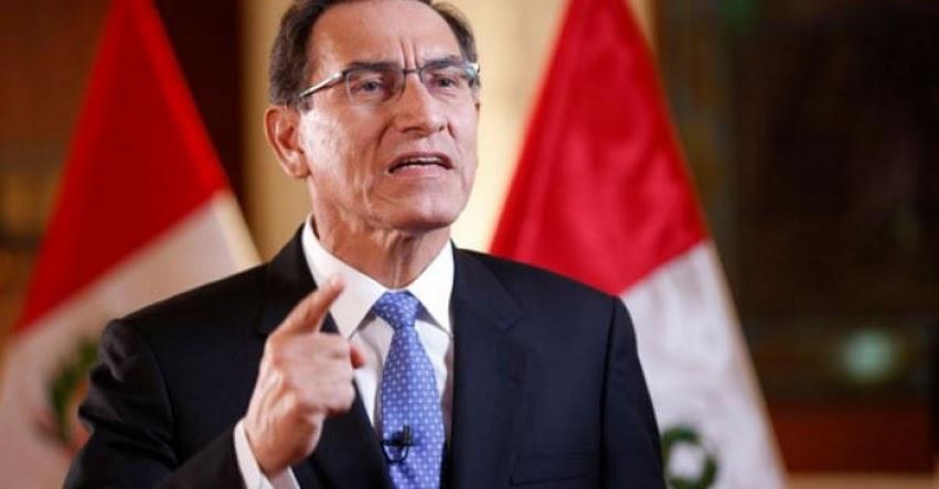 Errores en textos escolares son imperdonables, sostuvo el Presidente Martín Vizcarra