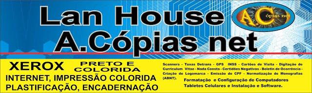 LAN HOUSE A.CÓPIAS NET
