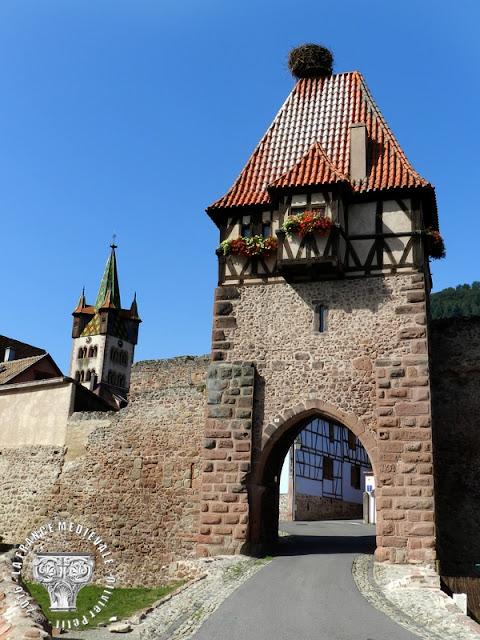 CHÂTENOIS (67) - Remparts médiévaux